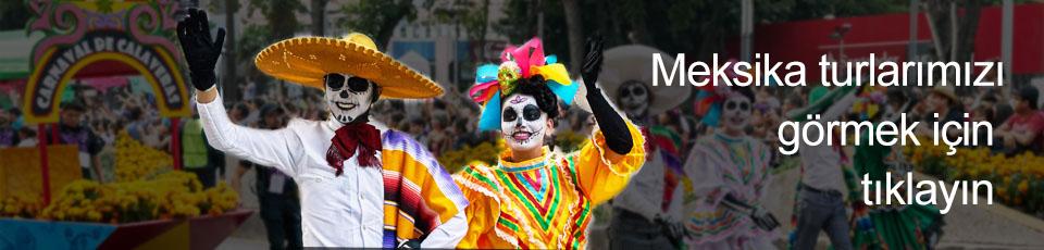 Meksika Ölüler Günü Festivali Günü Turu