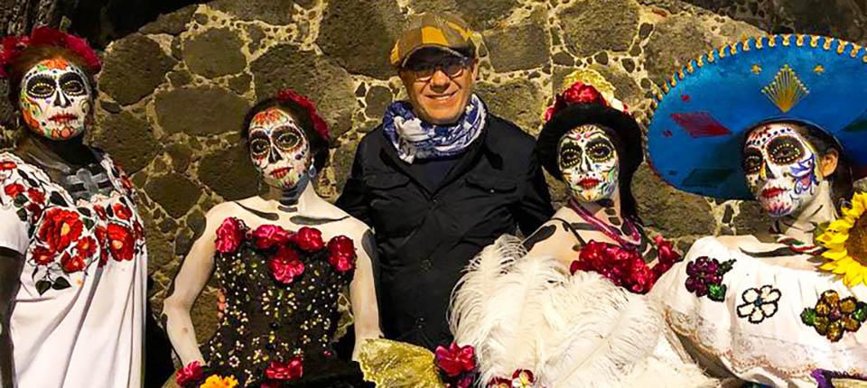 Ertuğrul Özkök meksika gezi turu ölüler gunu