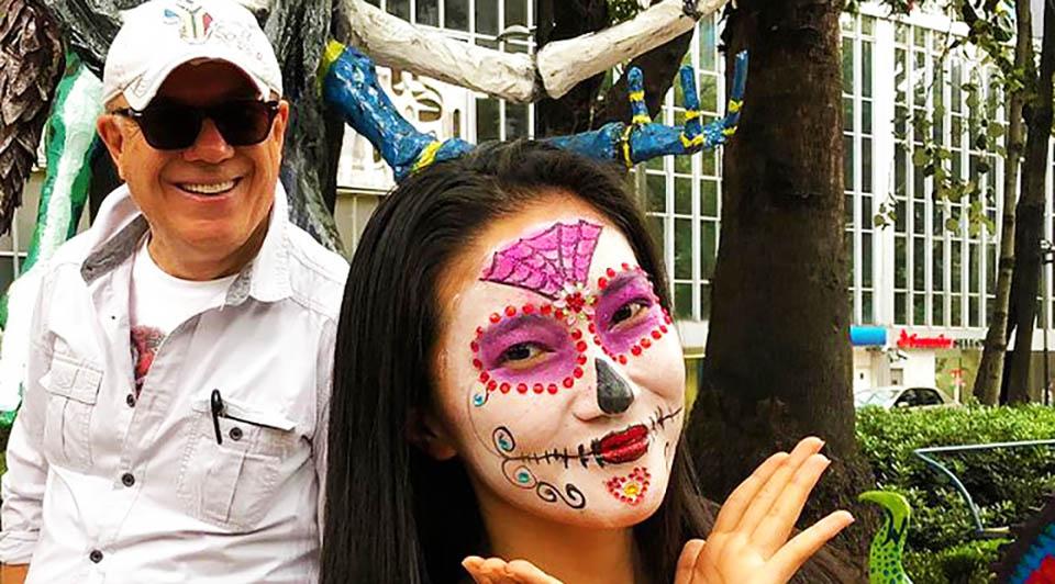 Ertuğrul özkök meksika gezi turu ölüler günü
