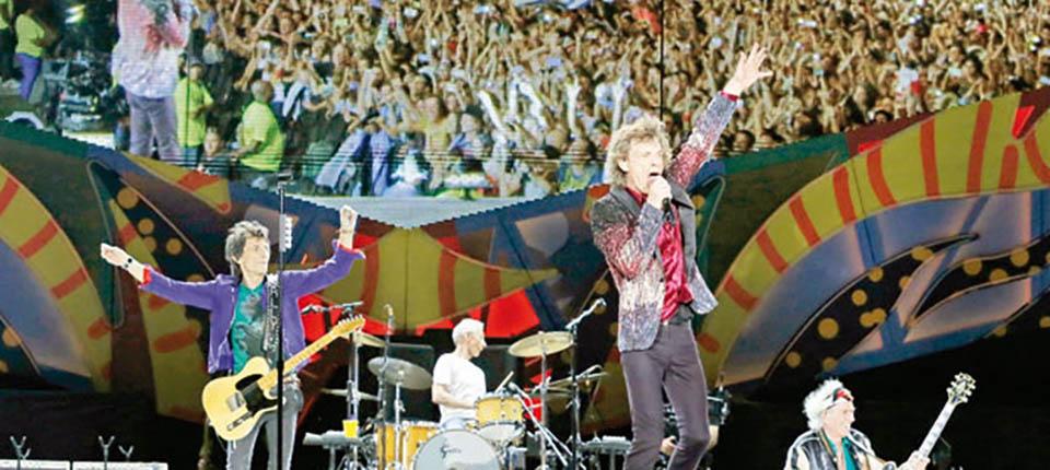 Mick Jagger Küba Konseri Fotoğrafları