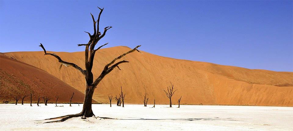 Namibya gezilecek yerler