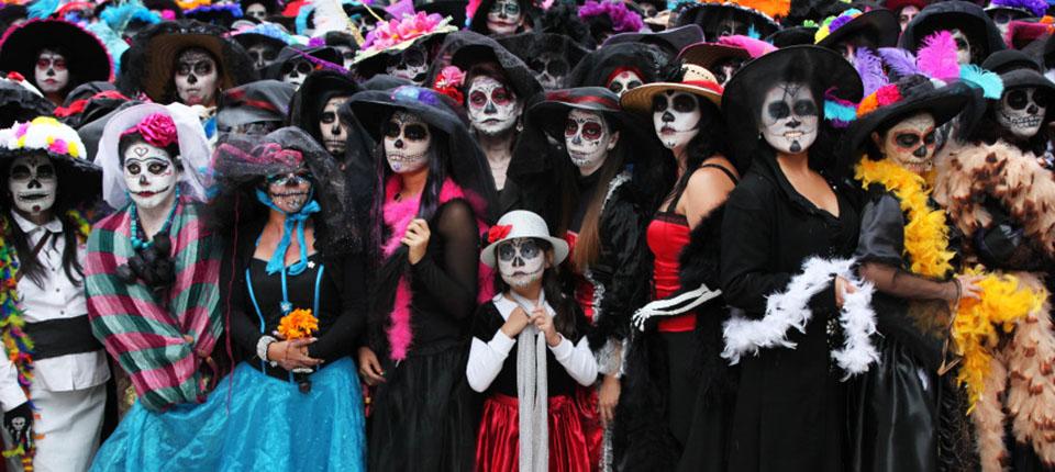 Meksika Ölüler Günü Fotoğrafı